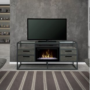 Ivan TV Stand for TVs up to 55 with Fireplace by Dimplex