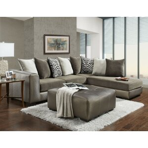 Willa Arlo Interiors Kinneret Back Sectional Image