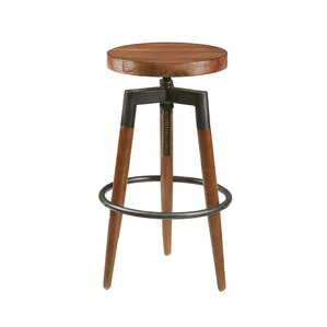 Frazier Adjustable Height Bar Stool by IN..