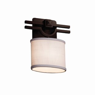 Red Hook 1 Light Oval Armed Sconces by Latitude Run