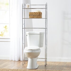 Bathroom Cabinets That Fit Over The Toilet bathroom cabinets & shelving | wayfair