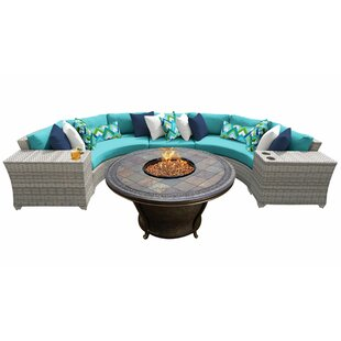 Falmouth 6 Piece Sectional Seating Group with Cushions