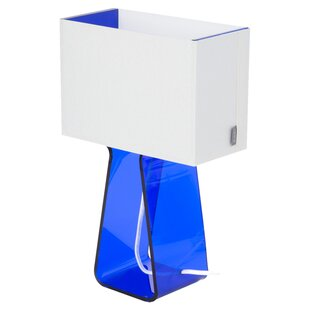 Pablo Designs Colorful Tube Top 14'' Table Lamp