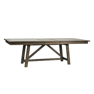 Veeder Trestle Dining Table by Loon Peak Looking for