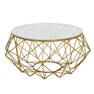 Whelan Wire Coffee Table by Wrought Studio SKU:CC997447 Buy