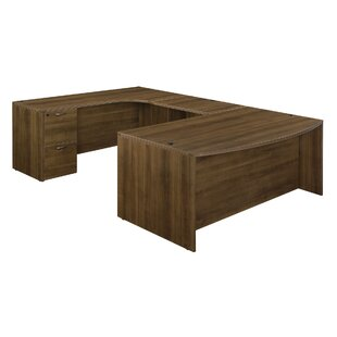 Fairplex Executive Desk with Corner Credenza