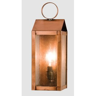 Check Prices 1-Light Outdoor Flush Mount By Meyda Tiffany