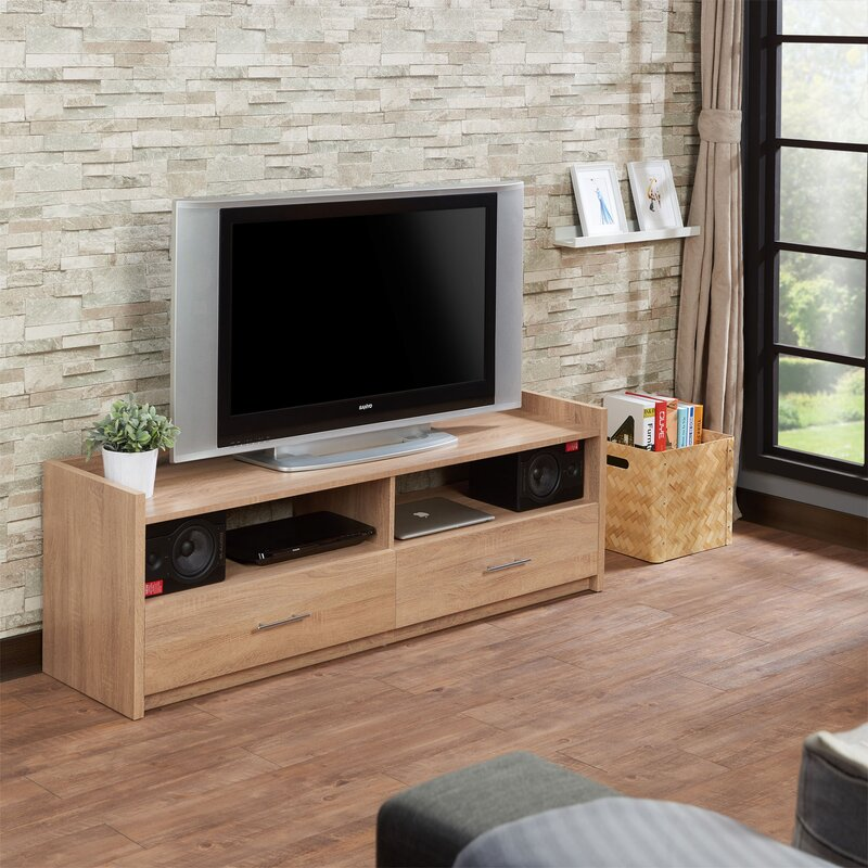 Ebern Designs Bloomdale Tv Stand For Tvs Up To 65 Inches Wayfair
