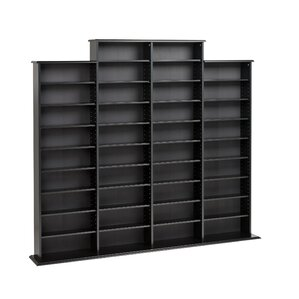 Quad Multimedia Storage Rack by Red Barrel Studio