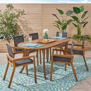 Cleaver 7 Piece Dining Set