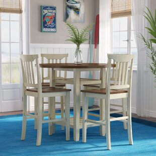 Eastep 5 Piece Counter Height Breakfast Nook Dining Set Breakwater Bay