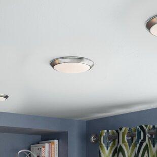 Ebern Designs Brookline 1-Light LED Integrated Flush Mount