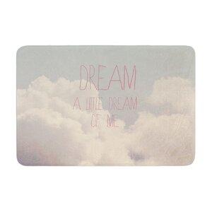 Rachel Burbee Dream of Me Memory Foam Bath Rug