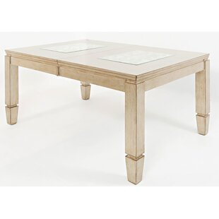 Hannah Extendable Dining Table House of Hampton