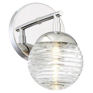 Latitude Run Hoffer 1-Light LED Bath Sconce
