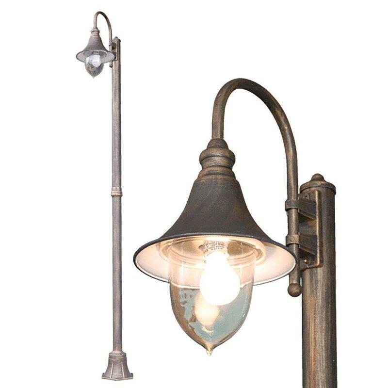 Lamp post lights youll love wayfair modello outdoor 1 light 98 post light aloadofball Gallery