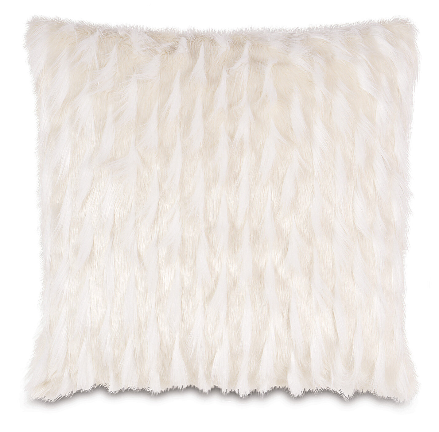 Eastern Accents Geode Luxe Faux Fur Throw Pillow Wayfair