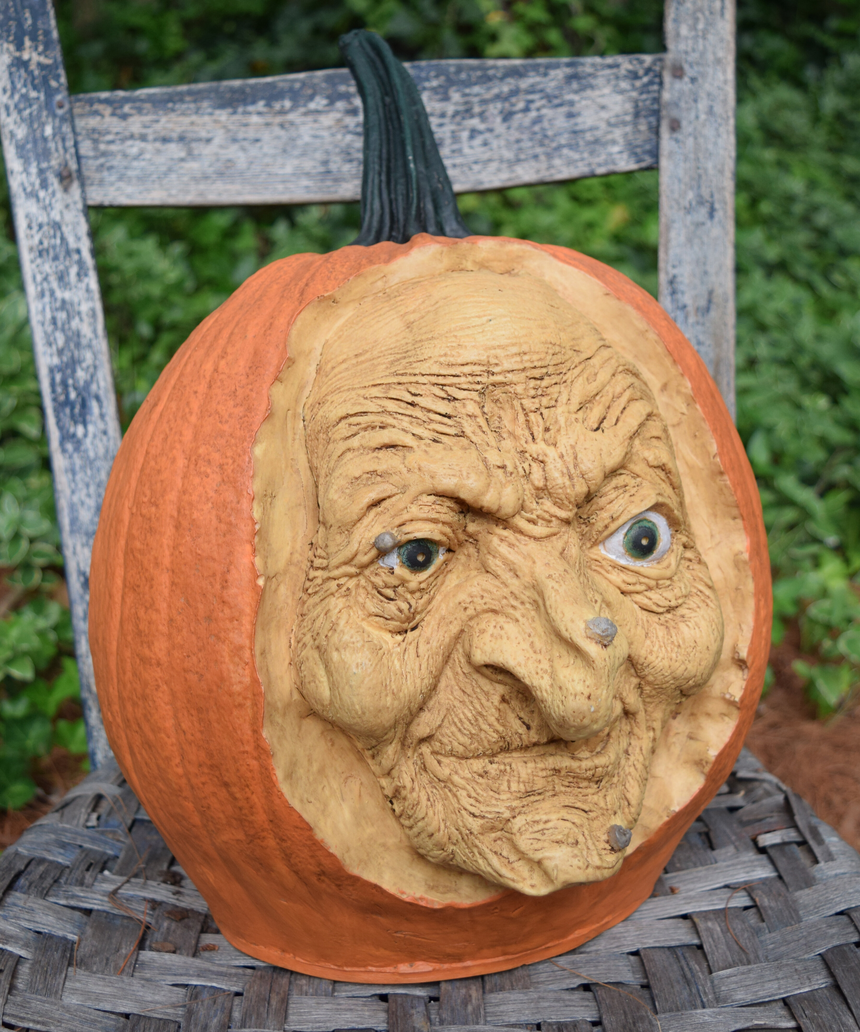 The Holiday Aisle Carved Witch Pumpkin Wayfair