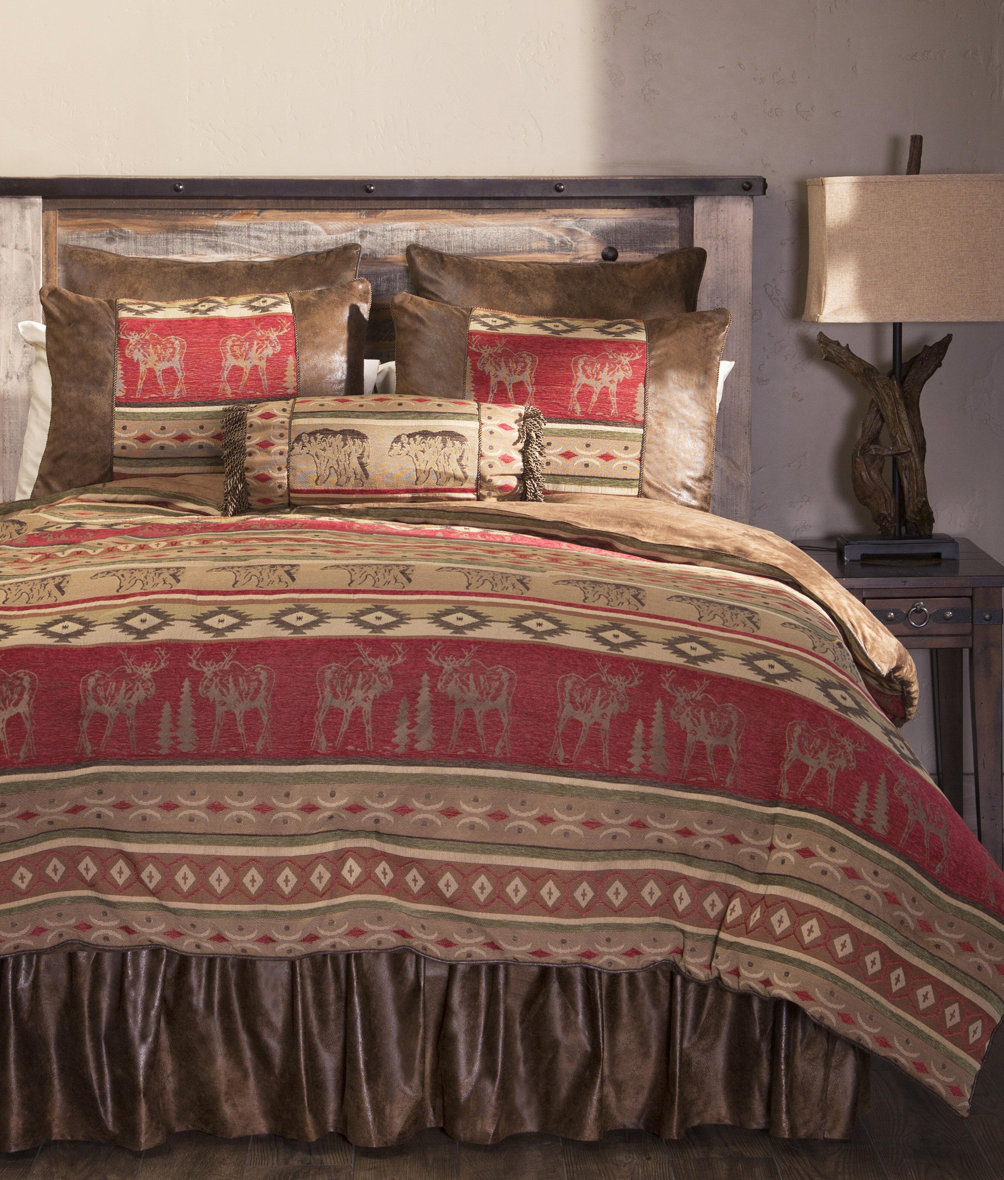Loon Peak Lamoureux Rustic Comforter Set Reviews Wayfair