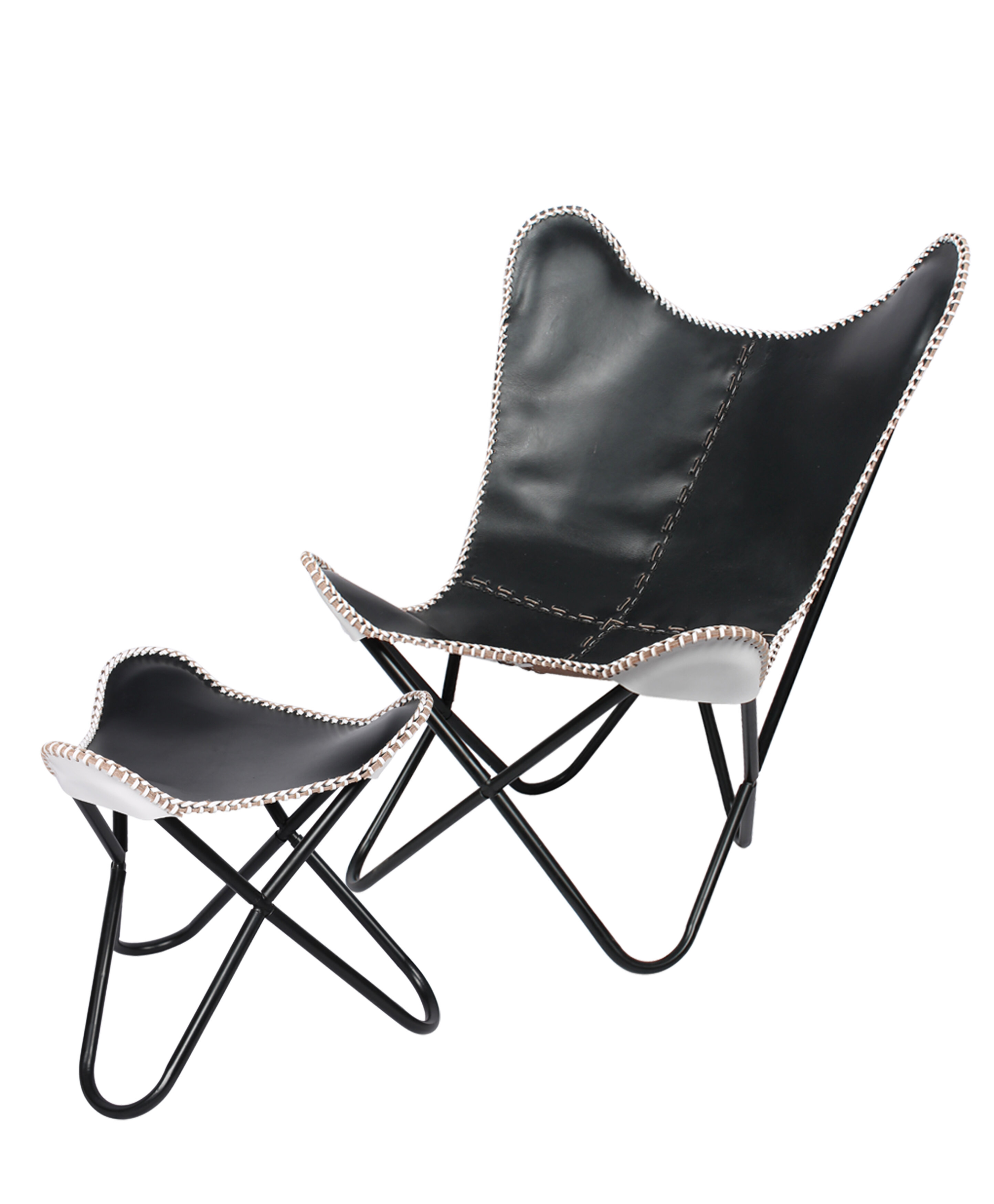 Fashion N You Butterfly Chair And Ottoman Wayfair