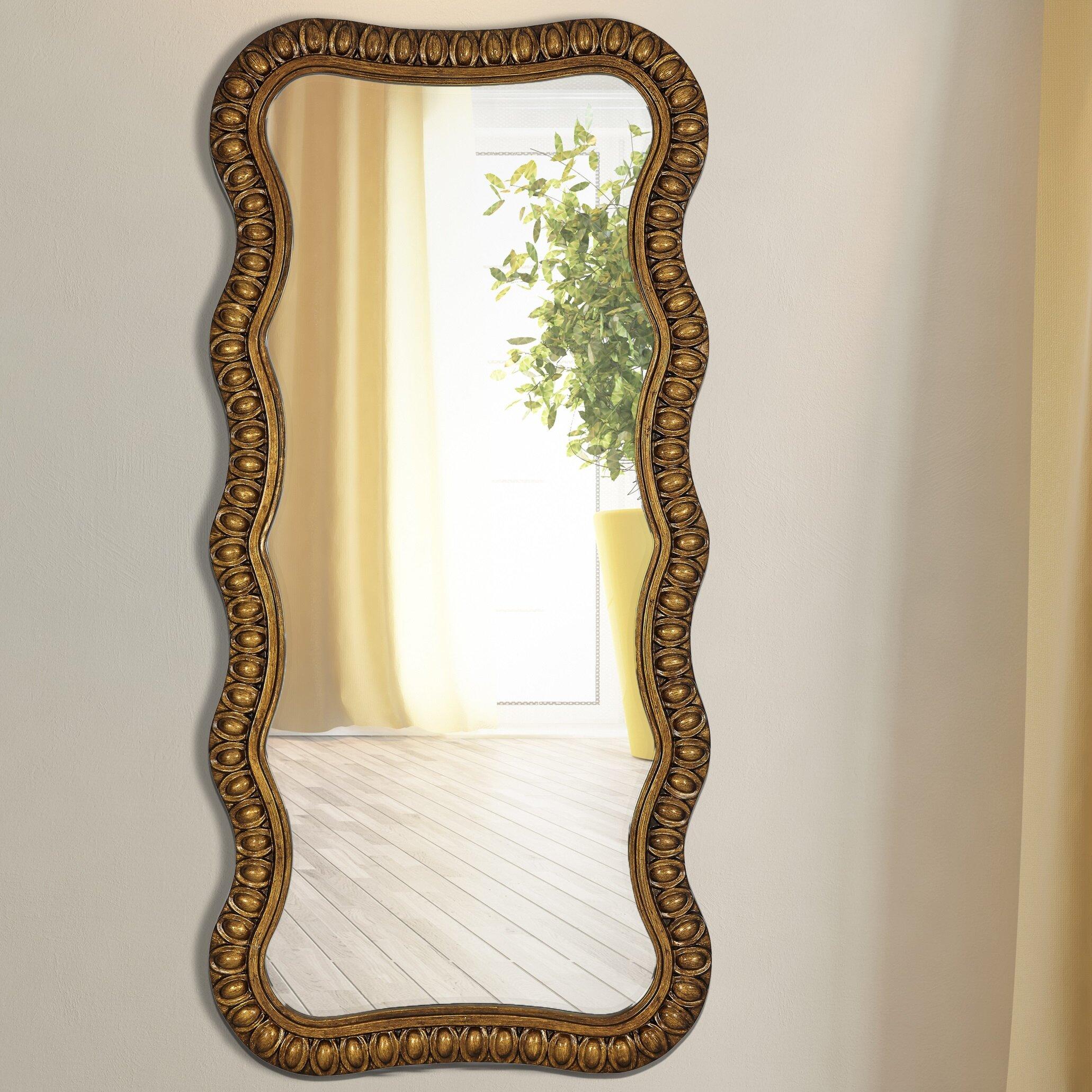 Majestic Mirror Traditional Beveled Wall Mirror Wayfair