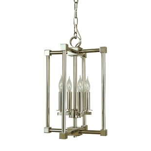 Elmo 4-Light Square/Rectangle Pendant by Ivy Bronx