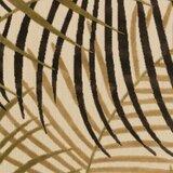 Willilams Dark brown/Camel Indoor/Outdoor Area Rug byBay Isle Home