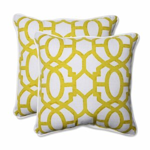 Nunu Geo Indoor/Outdoor Throw Pillow (Set of 2)