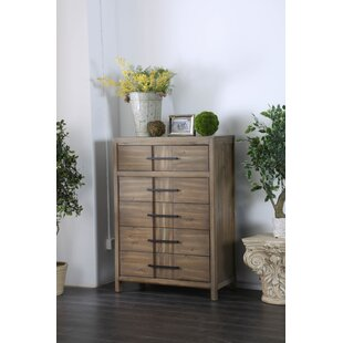 Union Rustic Pereyra 5 Drawer Chest