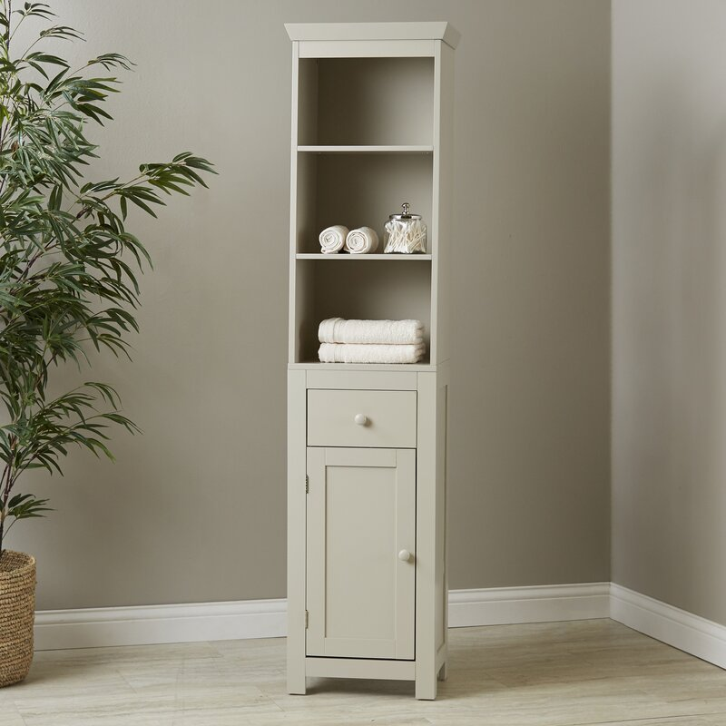 Birch Lane™ Caraway Bathroom Storage Cabinet & Reviews | Birch Lane