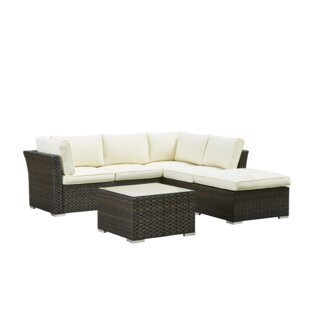 Waltonville 5 Piece Sectional Set with Cushions