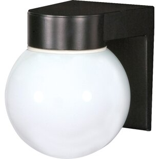 Best Barriga 1-Light Outdoor Sconce By Ebern Designs