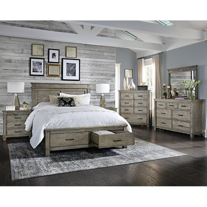 Sayler Storage Platform 3 Piece Bedroom Set