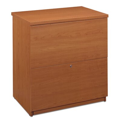 Alves 2-Drawer Lateral filing cabinet Color: Cappuccino Cherry by Mercury Row
