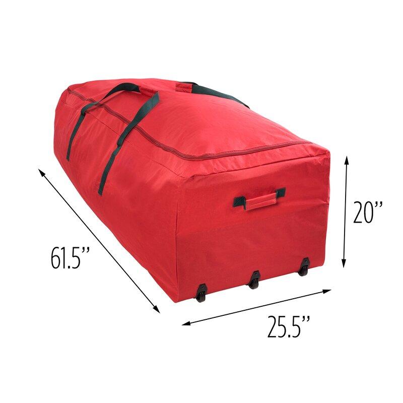 Gentil Wayfair Basics Rolling Artificial Tree Storage Bag