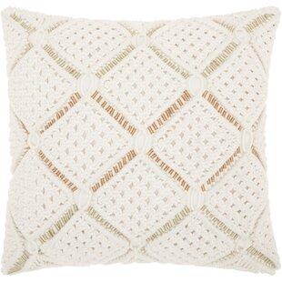 Dennet 100% Cotton Throw Pillow
