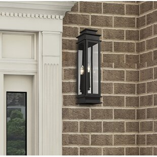 Farmingdale Traditional 1-Light Outdoor Flush Mount by Gracie Oaks