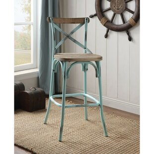 Santo Bar Stool by Gracie Oaks