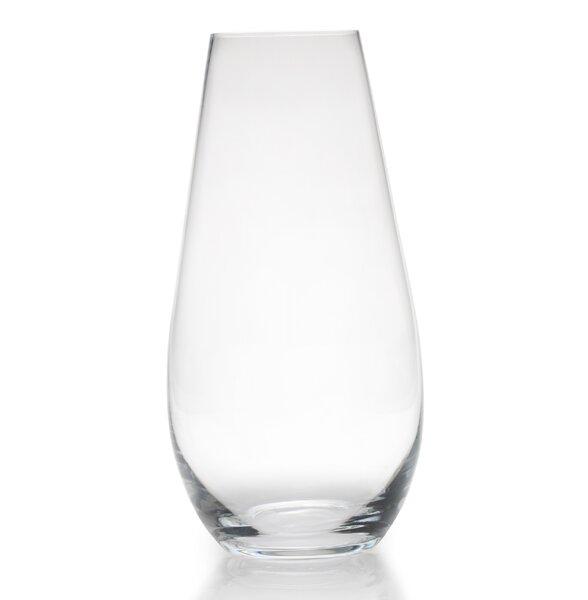 Counter Teardrop Glass Vase Wayfair