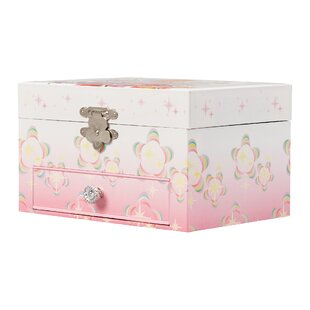 e9719640b2 Girl's Musical Ballerina Rectangle Jewelry Box