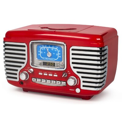Corsair with Bluetooth Crosley Electronics Color: Red