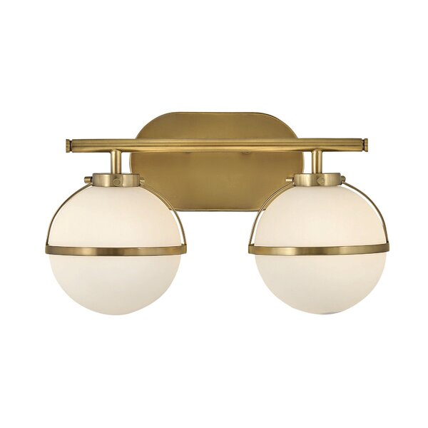 Corrigan Studio Coley 2 Light Vanity Light Wayfair