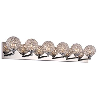 Everly Quinn Launcest 6-Light LED Vanity Light