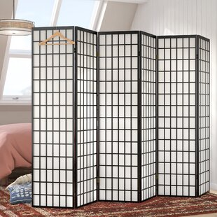Trevor Shoji 6 Panel Room Divider by World Menagerie