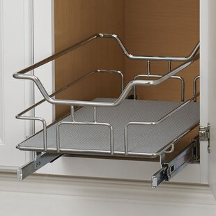 Non-Slip Under Sink Pull Out Drawer by Rebrilliant