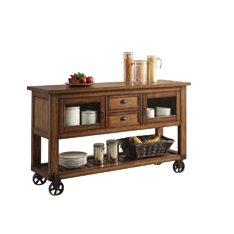 Loon Peak Hermann Kitchen Cart | Wayfair