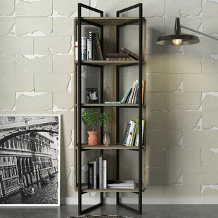 Isham Corner Bookcase By Ebern Designs