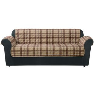 Highland Plaid Sofa Slipcover