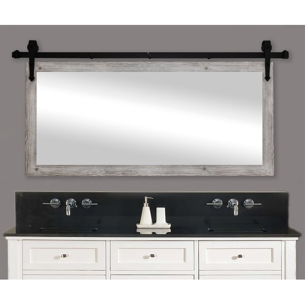Laurel Foundry Modern Farmhouse Abraham Antique Farmhouse Country Bathroom Vanity Mirror Reviews