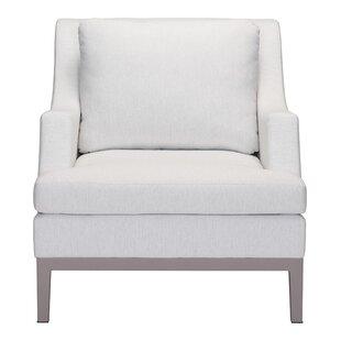 Orren Ellis Kennington Patio Chair with Cushion